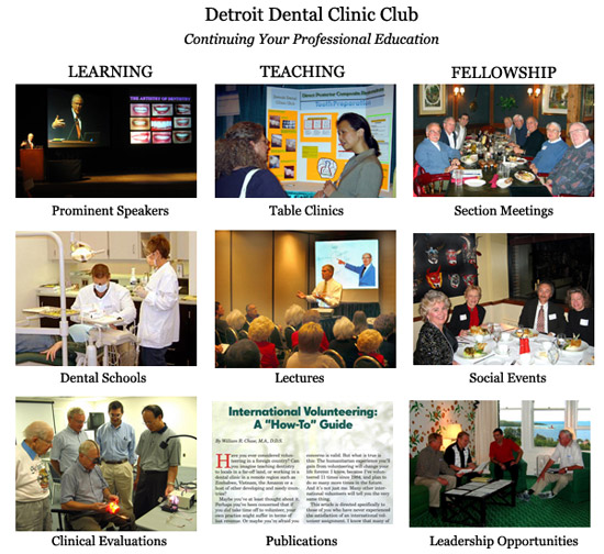 Detroit Dental Clinic Club Benefits